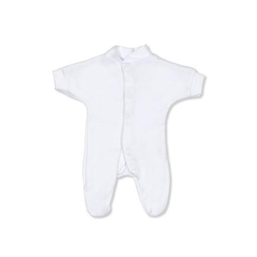 White Baby Grow