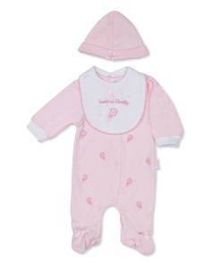 Pink Sweet as Candy Sleep Suit