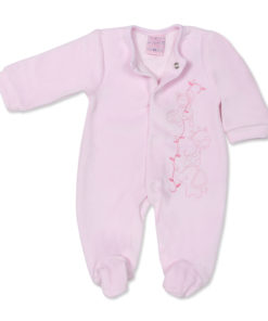 Jungle Babygrow Pink