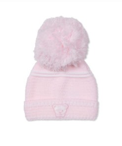 Pink Teddy Hat