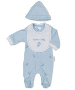 Blue Sweet as Candy Sleep Suit