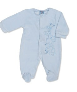 Jungle Babygrow Blue