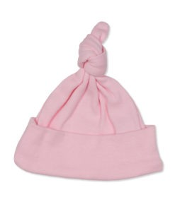 Beanie Hat Knotted Pink