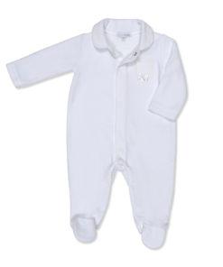 Luxury Velour Baby Grow/Sleep Suit