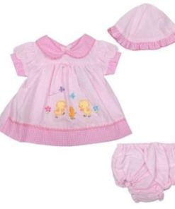 Girls Pink Spring Chick Dress