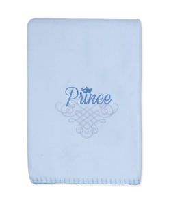 Boys Blue Prince Blanket