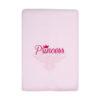 Girls Pink Princess Blanket