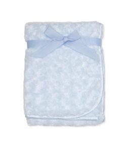 Boys Blue Rose Fur Blanket