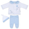 Boys Bunny Watch Me Grow Outfit