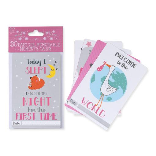 Girls Memory Cards Pink