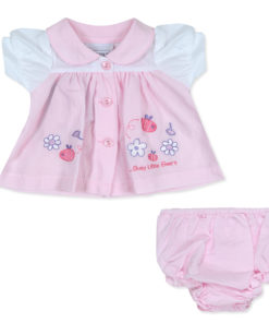 Busy Bees Dress Pink