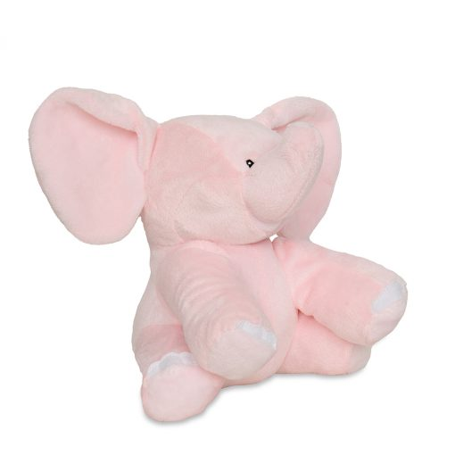 Girls Pink Elephant Teddy