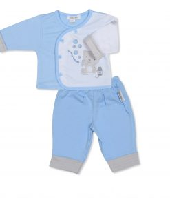 Boys Blue Bubbles Jacket and Trousers