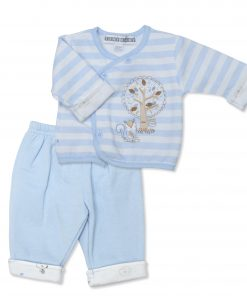 Boys Candy Stripe Squirrel Jacket & Trousers
