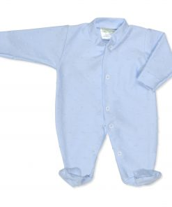Boys Blue Bubble Babygrow