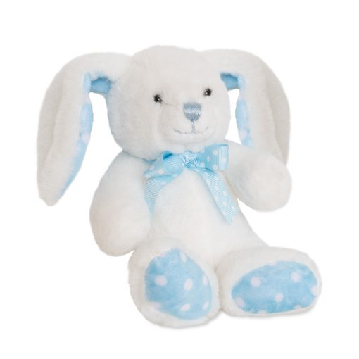 Boys White and Blue Spotted Rabbit.