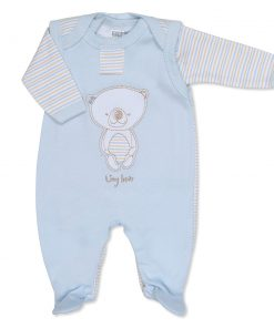 Boys Tiny Bear Outfit with Vest