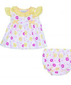 Girls Lemon Daisy Dress