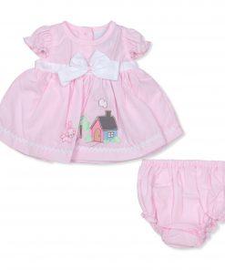 Girls Pink House Dress