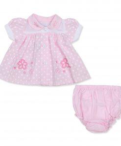 Girls Pink Daisy Dress