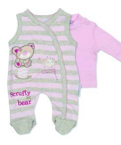 Girls Scruffy Bear Outfit