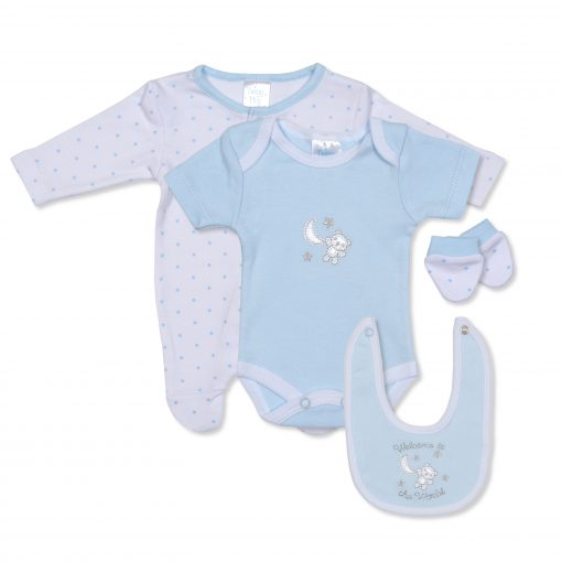 Boys Welcome to the World Gift Set